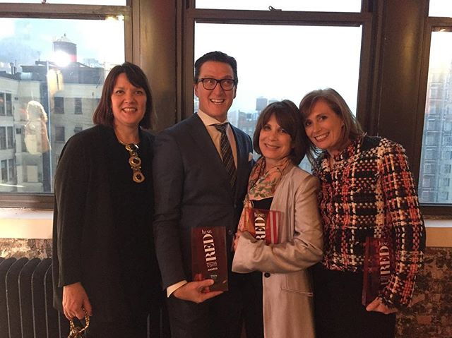 Congratulations RED winners @janiceparkerjpla and @brucefoxdesign A great evening and reunion!