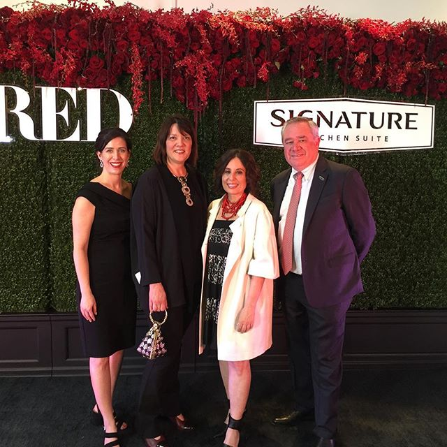 A wonderful evening last night with @luxemagazine @sksappliances @pamelajaccarino @kmbrockman celebrating design excellence. Happy to be a part of it!
