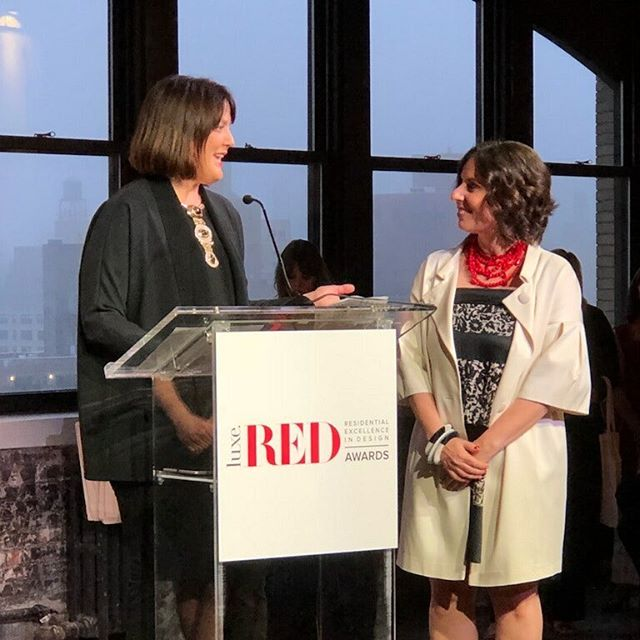 Still feeling Empowered, Inspired and Enamored!  Congratulations @pamelajaccarino @luxemagazine for a beyond successful inaugural Luxe Be RED awards!! Happy to partner with you. Look forward to more ️