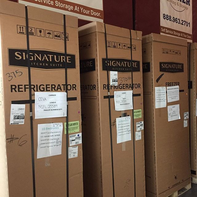 @sksappliances products arriving in Napa to complete our Experience and Design Center.